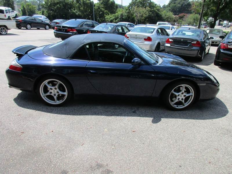 2003 Porsche 911 Carrera 2dr Cabriolet - Raleigh NC