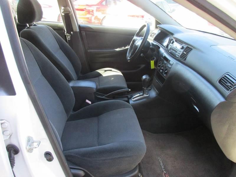 2003 Toyota Corolla S 4dr Sedan - Raleigh NC