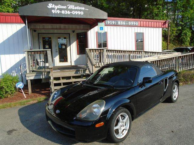 2000 toyota mr2 spyder for sale for Skyline motors raleigh nc
