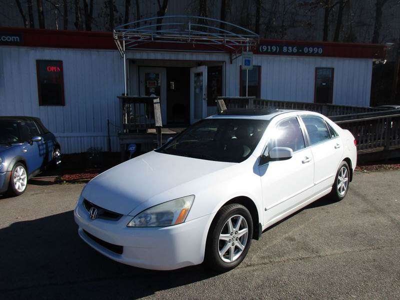 2004 Honda Accord EX V-6 4dr Sedan - Raleigh NC
