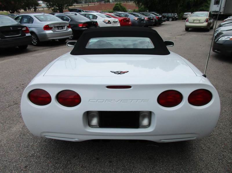 1998 Chevrolet Corvette 2dr Convertible - Raleigh NC