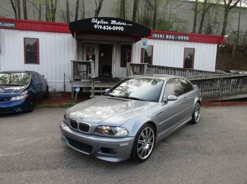 2006 bmw m3 for sale for Skyline motors raleigh nc