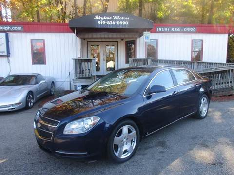 2009 chevrolet malibu for sale for Skyline motors raleigh nc