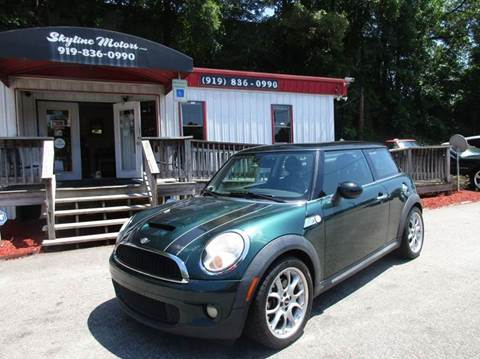 Mini cooper for sale raleigh nc for Skyline motors raleigh nc