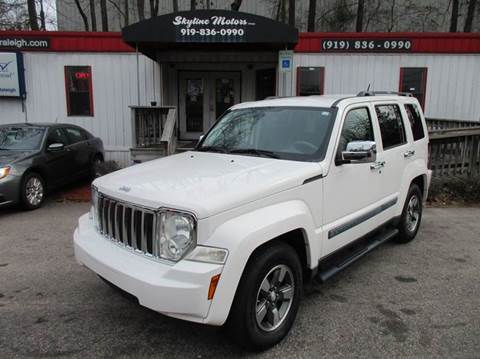 2008 jeep liberty for sale raleigh nc. Cars Review. Best American Auto & Cars Review