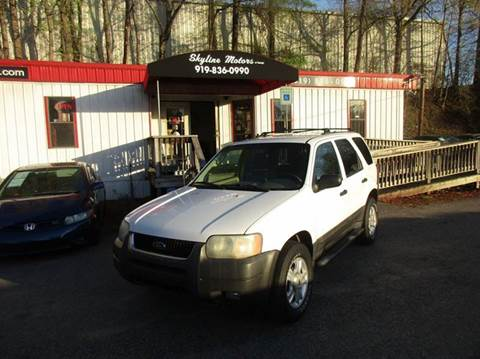 2003 Ford Escape