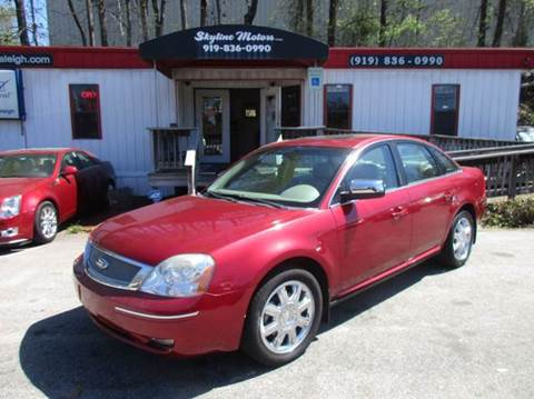2007 Ford Five Hundred for sale in Raleigh, NC
