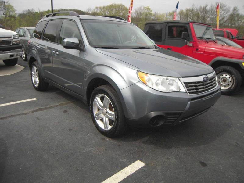 2009 subaru forester 2 5 x premium awd 4dr wagon 4a. Black Bedroom Furniture Sets. Home Design Ideas