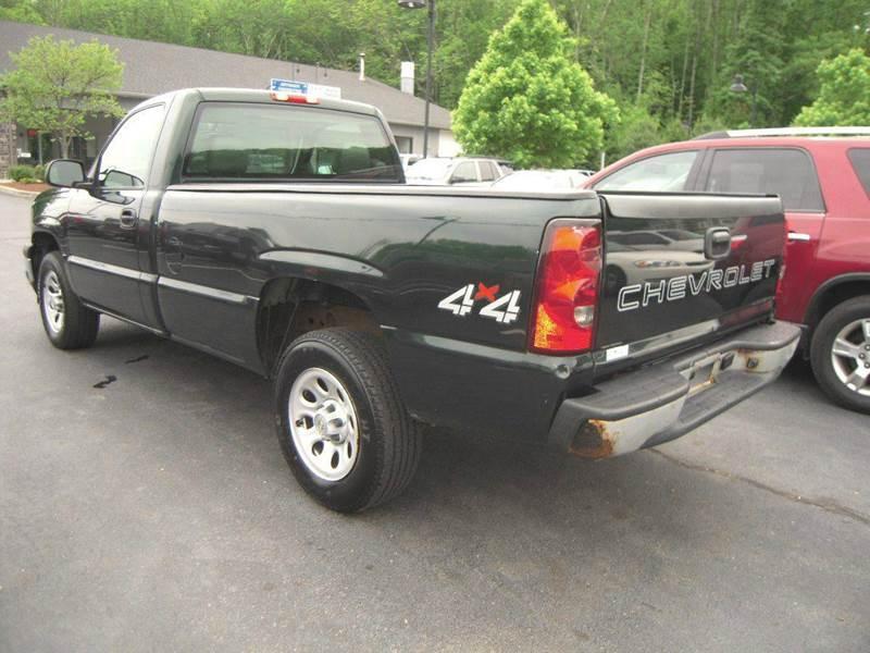 2006 Chevrolet Silverado 1500 Work Truck 2dr Regular Cab 4WD 8 ft. LB - Branchville NJ