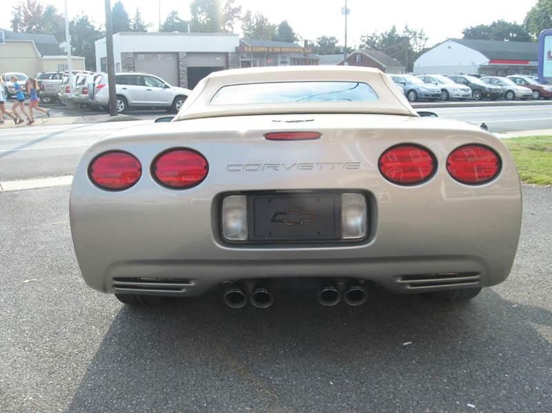 2002 Chevrolet Corvette 2dr Convertible - Landisville PA