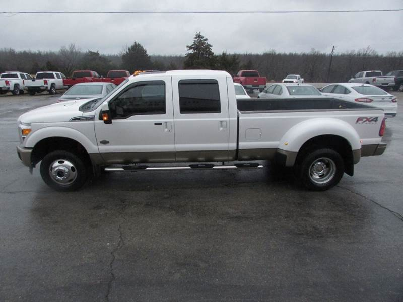 2013 Ford F 350 Super Duty 4x4 King Ranch 4dr Crew Cab 8 Ft Lb Drw Pickup In Salem Ar Hills