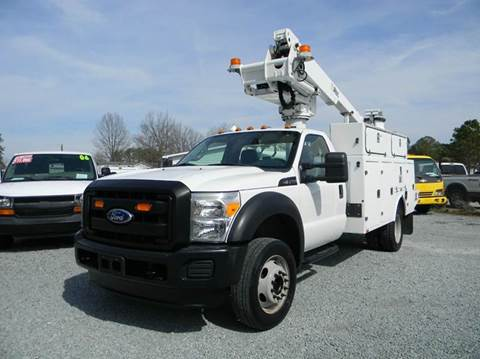 2011 Ford F-450 Super Duty Bucket Truck for sale in Angier, NC