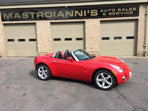 2006 Pontiac Solstice for sale in Palmer, MA