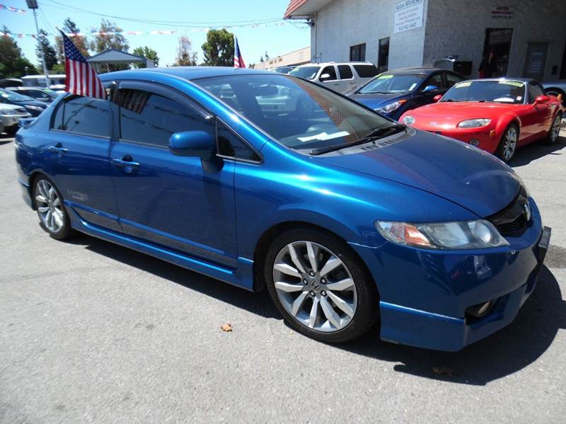 2010 HONDA CIVIC SI 4DR SEDAN blue need financing we can help call now  call today  call the