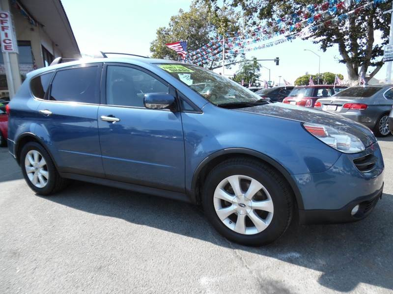 2007 SUBARU B9 TRIBECA 5-PASS AWD 4DR SUV WGRAY INT blue need financing we can help call now