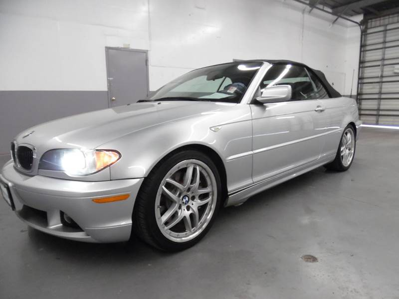 2004 BMW 3 SERIES 330CI 2DR CONVERTIBLE silver need financing we can help call now  call today