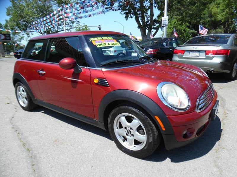 2007 MINI COOPER BASE 2DR HATCHBACK nightfire red need financing we can help call now  call to