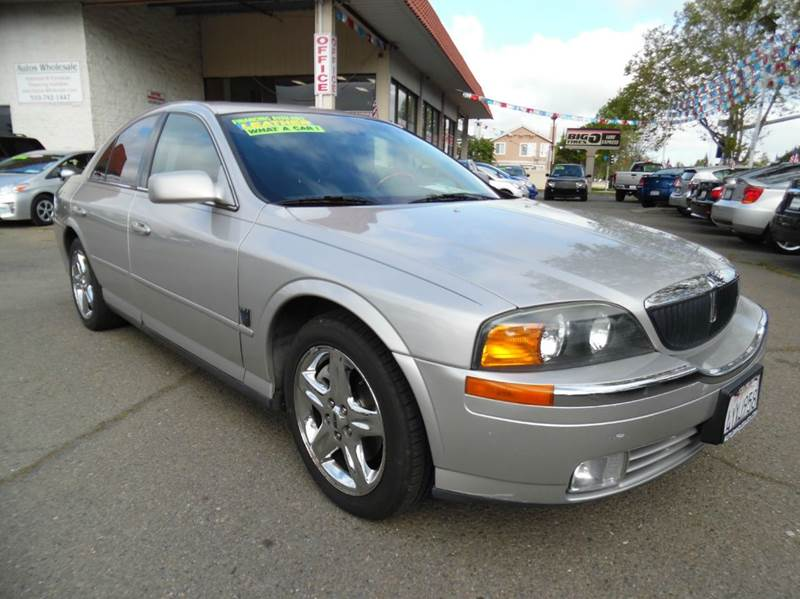 2002 LINCOLN LS BASE 4DR SEDAN V8 silver need financing we can help call now  call today  cal
