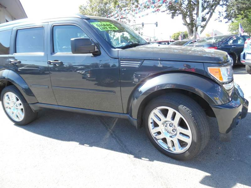 2011 DODGE NITRO HEAT 4X2 4DR SUV black need financing we can help call now  call today  call