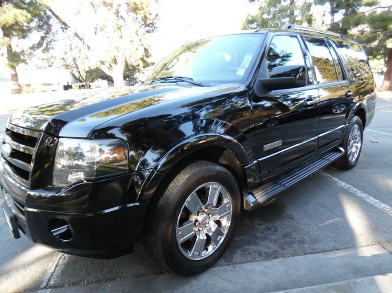 2008 FORD EXPEDITION LIMITED 4X2 4DR SUV black need financing we can help call now  call today