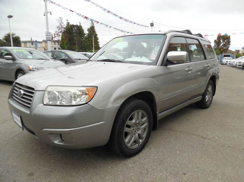 2007 SUBARU FORESTER 25 X LLBEAN EDITION AWD 4DR W silver need financing we can help call no