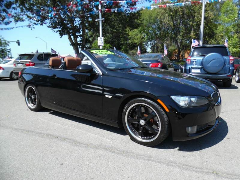 2008 BMW 3 SERIES 335I 2DR CONVERTIBLE black need financing we can help call now  call today