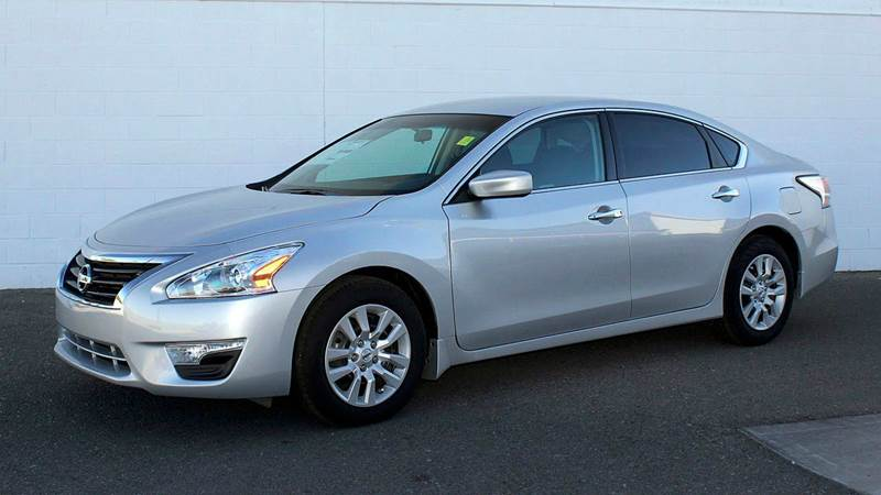 2014 NISSAN ALTIMA 25 S 4DR SEDAN silver need financing we can help call now  call today  cal