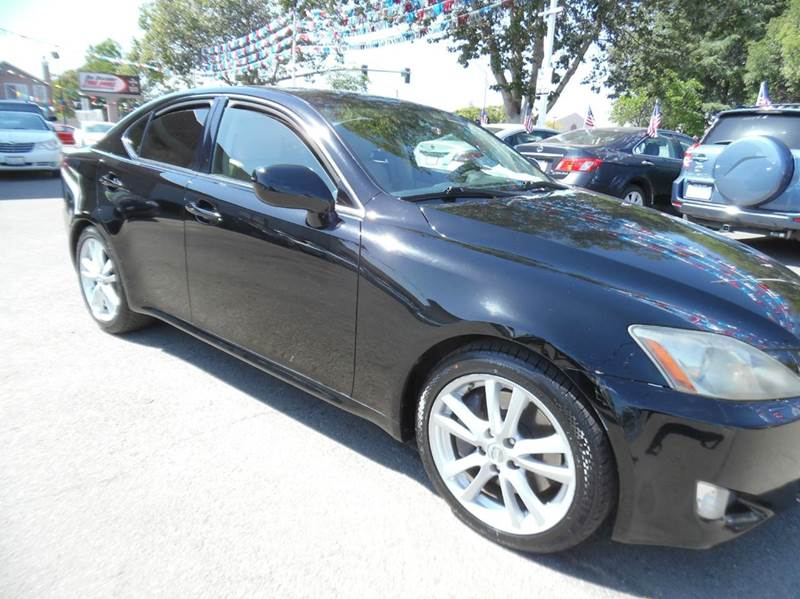2006 LEXUS IS 350 BASE 4DR SEDAN black need financing we can help call now  call today  call