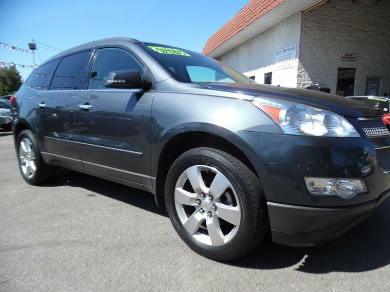 2011 CHEVROLET TRAVERSE LTZ AWD 4DR SUV gray need financing we can help call now  call today