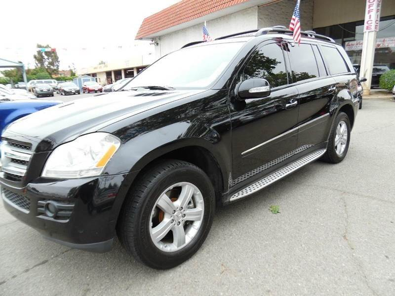 2007 MERCEDES-BENZ GL-CLASS GL450 AWD 4MATIC 4DR SUV black need financing we can help call now