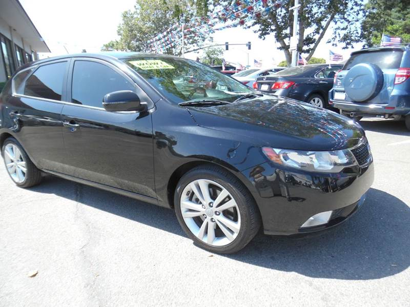 2011 KIA FORTE5 SX 4DR HATCHBACK 6A black need financing we can help call now  call today  ca