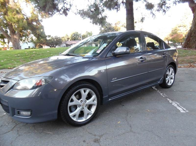 2008 MAZDA MAZDA3 S GRAND TOURING 4DR SEDAN 5A gray need financing we can help call now  call