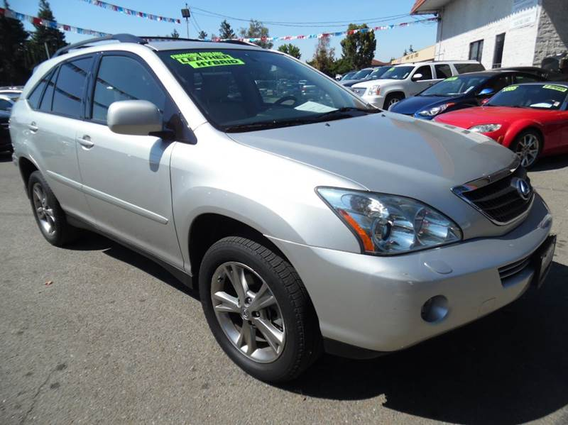 2006 LEXUS RX 400H BASE AWD 4DR SUV silver need financing we can help call now  call today  c