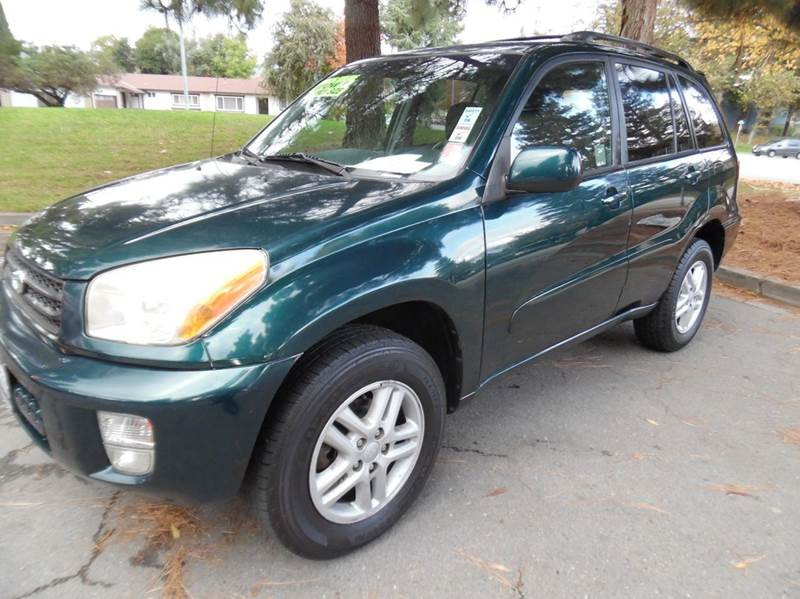 2002 TOYOTA RAV4 BASE 2WD 4DR SUV dark green need financing we can help call now  call today