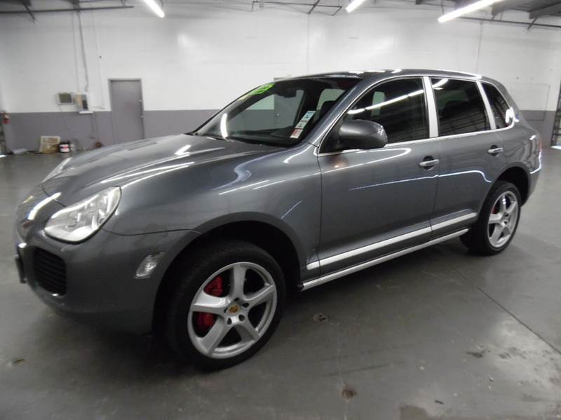 2006 PORSCHE CAYENNE TURBO S AWD 4DR SUV gray need financing we can help call now  call today