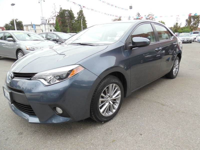 2014 TOYOTA COROLLA LE PLUS 4DR SEDAN grey need financing we can help call now  call today  c