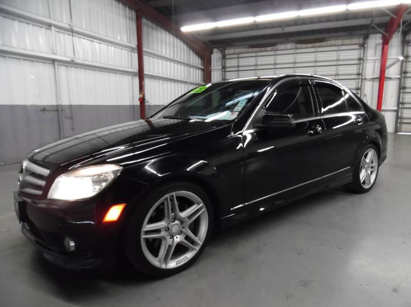 2010 MERCEDES-BENZ C-CLASS C350 SPORT 4DR SEDAN black need financing we can help call now  cal