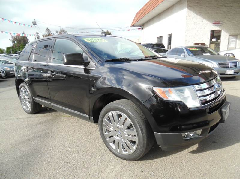 2008 FORD EDGE LIMITED AWD 4DR SUV black need financing we can help call now  call today  call