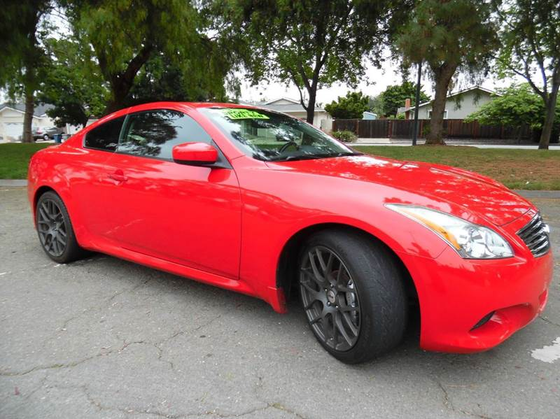 2008 INFINITI G37 SPORT 2DR COUPE red need financing we can help call now  call today  call t