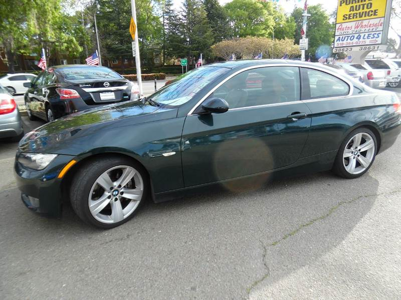 2008 BMW 3 SERIES 335I 2DR COUPE racing green need financing we can help call now  call today