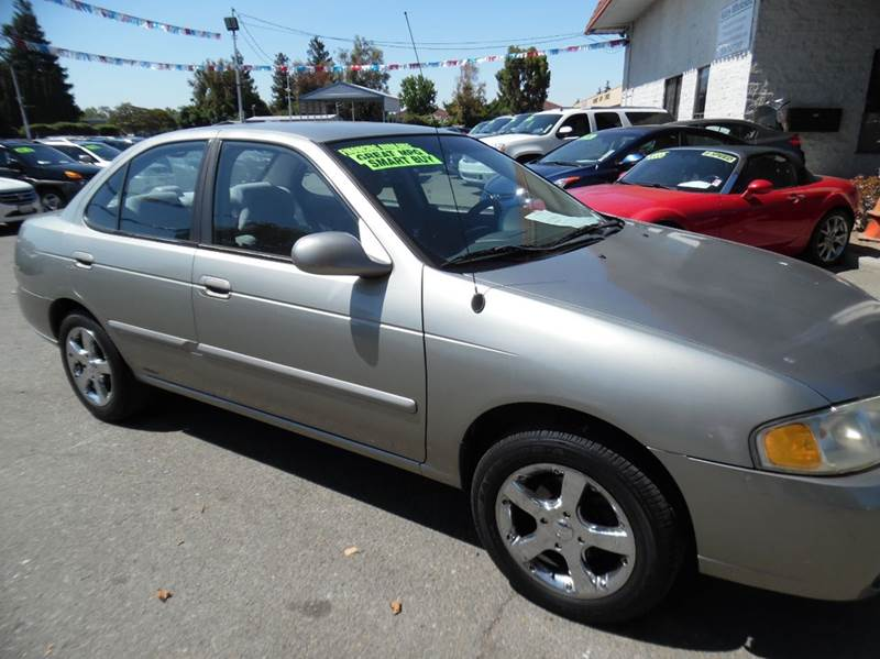2003 NISSAN SENTRA GXE 4DR SEDAN silver need financing we can help call now  call today  call