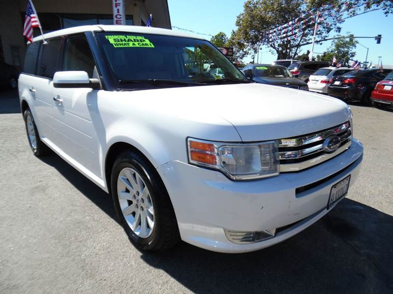 2010 FORD FLEX SEL AWD 4DR CROSSOVER pearl white need financing we can help call now  call toda