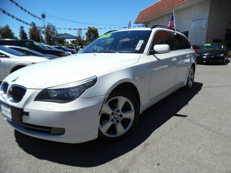 2008 BMW 5 SERIES 535XI AWD 4DR WAGON white need financing we can help call now  call today