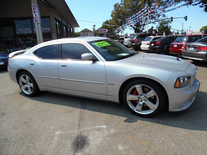 2007 DODGE CHARGER SRT-8 4DR SEDAN silver need financing we can help call now  call today  ca