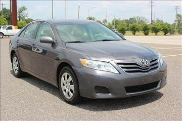 2011 TOYOTA CAMRY LE 4DR SEDAN 6A grey need financing we can help call now  call today  call