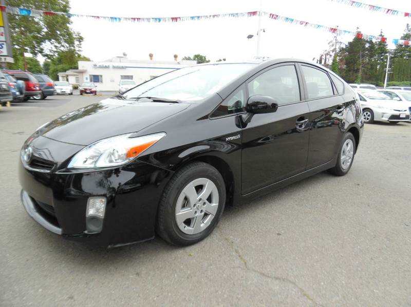 2010 TOYOTA PRIUS II 4DR HATCHBACK black certified pre-owned  need financing we can help cal