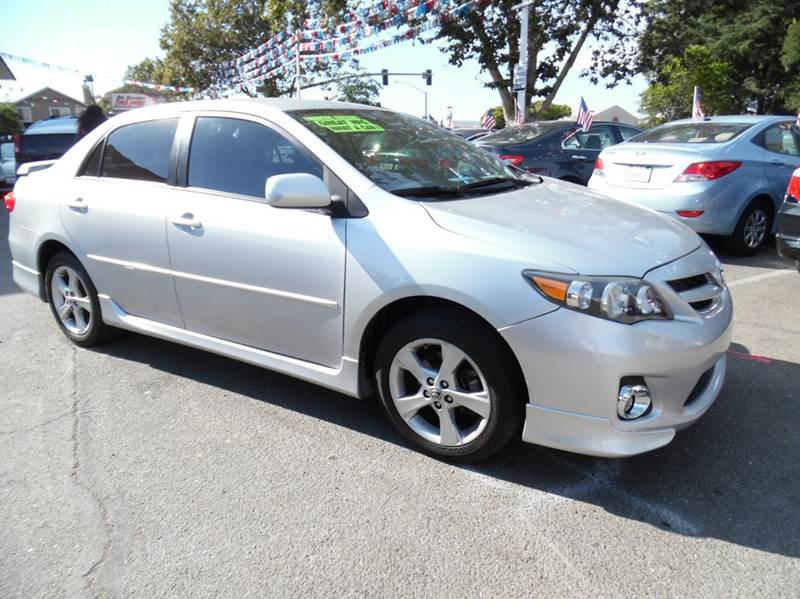 2011 TOYOTA COROLLA S 4DR SEDAN 4A silver need financing we can help call now  call today  ca
