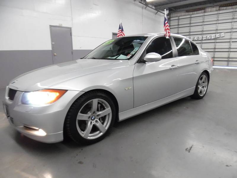 2007 BMW 3 SERIES 335I 4DR SEDAN silver need financing we can help call now  call today  call