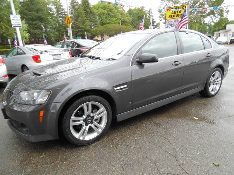 2008 PONTIAC G8 BASE 4DR SEDAN dark gray need financing we can help call now  call today  cal