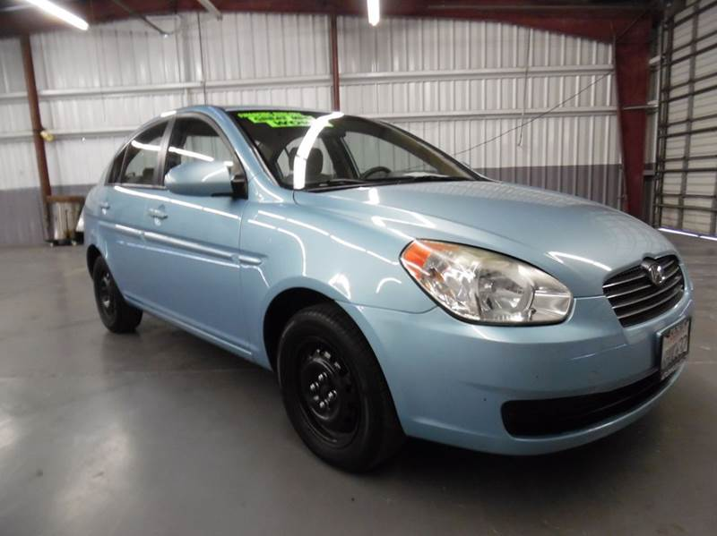 2009 HYUNDAI ACCENT GLS 4DR SEDAN blue need financing we can help call now  call today  call